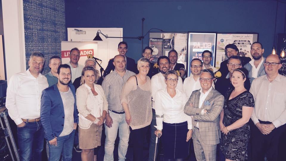 Dineren met Directeuren. PRONK Stads- & Terrascafé