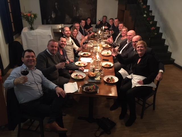 Dineren met Directeuren. Restaurant 't Feithhuis