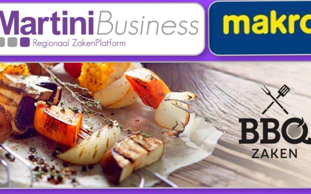BBQ-en met ondernemers bij Makro Groningen.