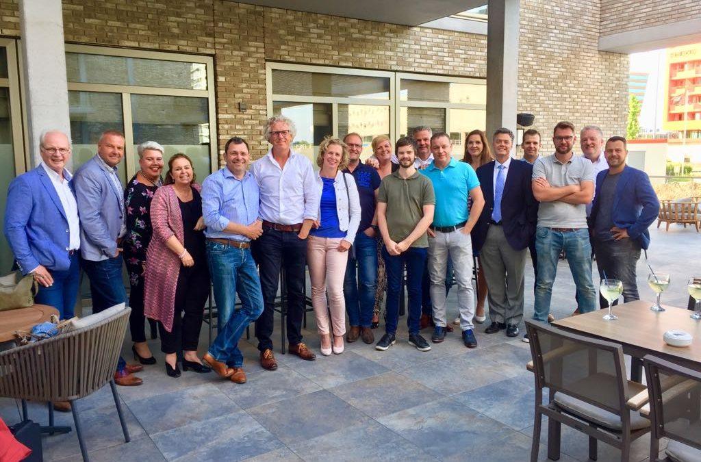 'Dineren met directeuren' bij de Leyhoeve Horeca Groningen.