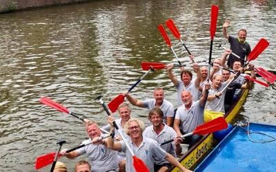 Drakenbootrace Groningen 2018,
