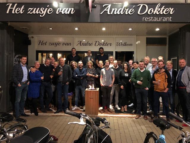 """""""Dineren met Directeuren"""" bij Het Zusje van André Dokter."""